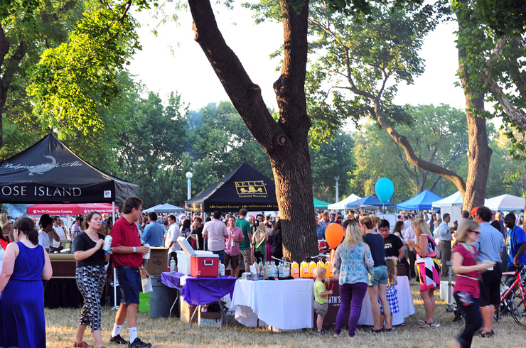 Bell's Beer Tent at Green City Market Chef's BBQ