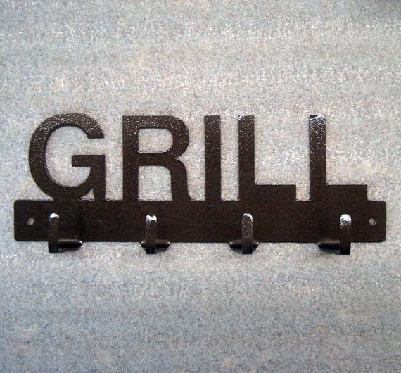 Knob Creek Metal Works Grill Utensil Rack