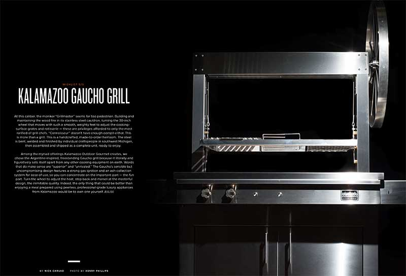 The Kalamazoo Gaucho Grill - Gear Patrol's Wishlist
